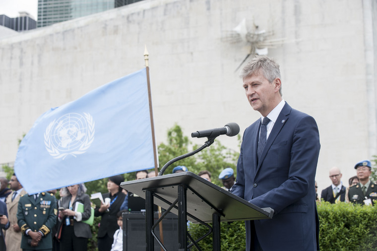International Peacekeepers Day: Medal Parade at UN Headquarters