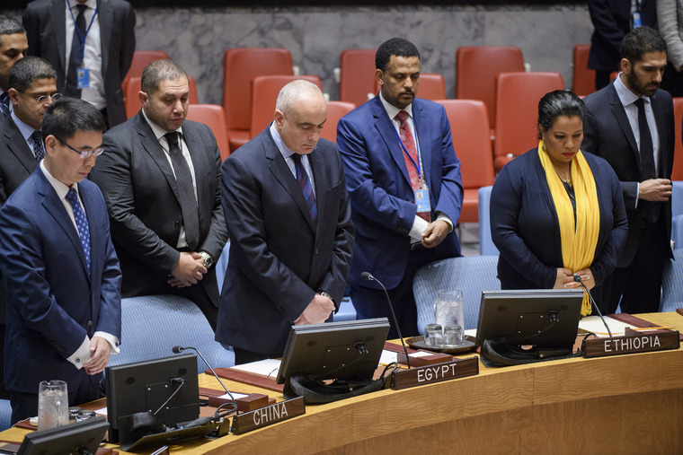 Security Council Honours Victims of Terrorist Attack in Egypt