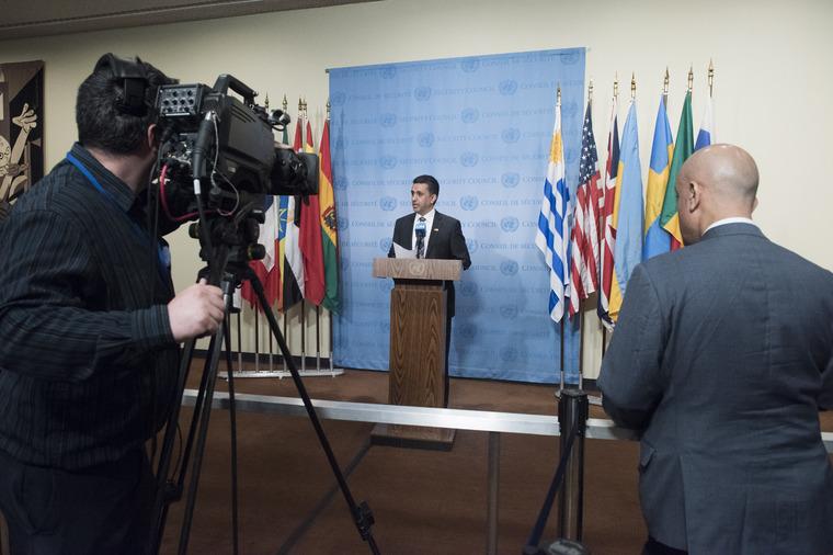 Security Council President Briefs Press on Burundi