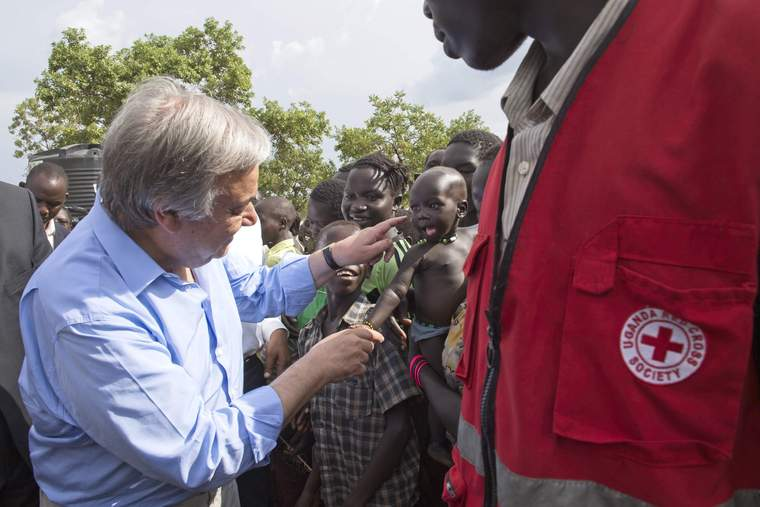 Secretary-General Visits Imvepi Refugee Settlement in Uganda