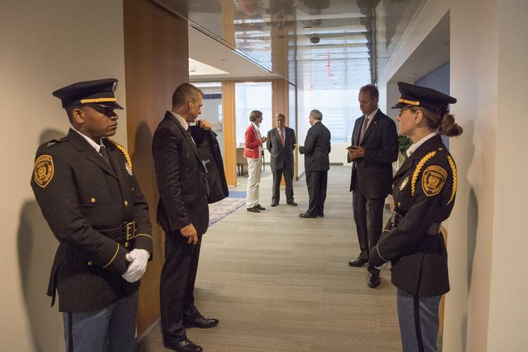 Secretary-General During Lull in Week of UN High-level Meetings