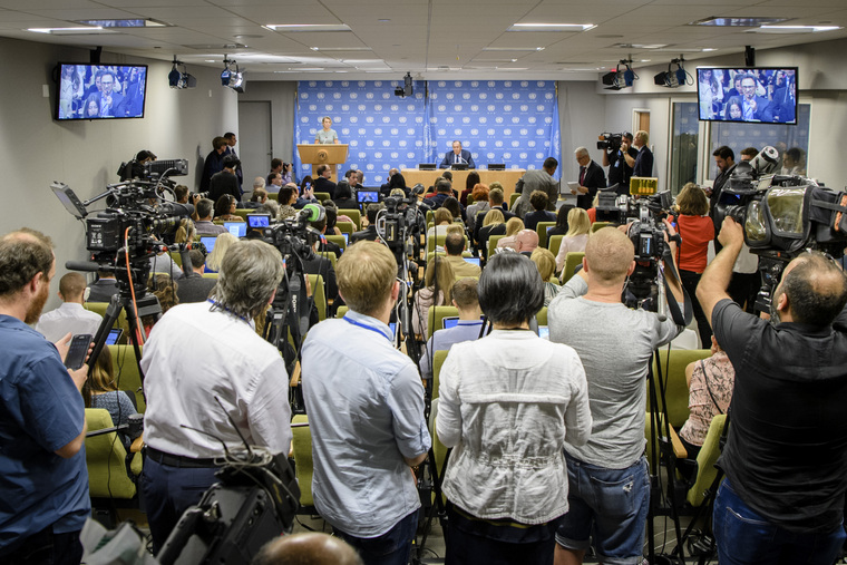Press Conference by Foreign Minister of Russian Federation