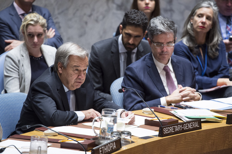 Secretary-General Addresses Security Council on Maintenance of International Peace and Security