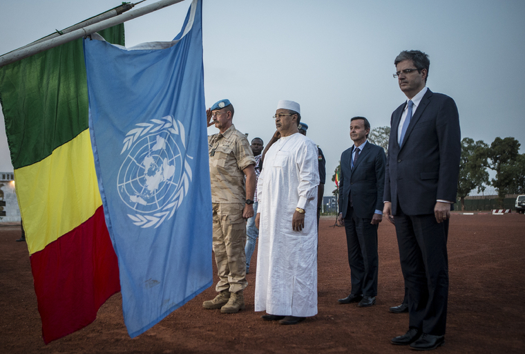Security Council Delegation Visits Mali