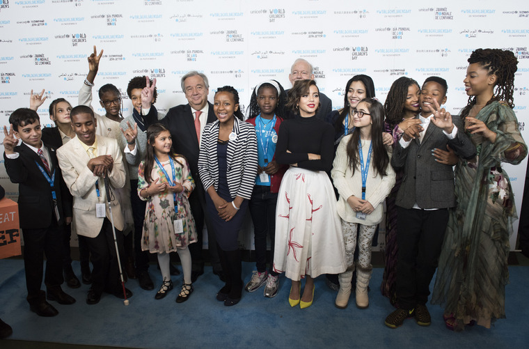 Special Event Marking United Nations Universal Children's Day