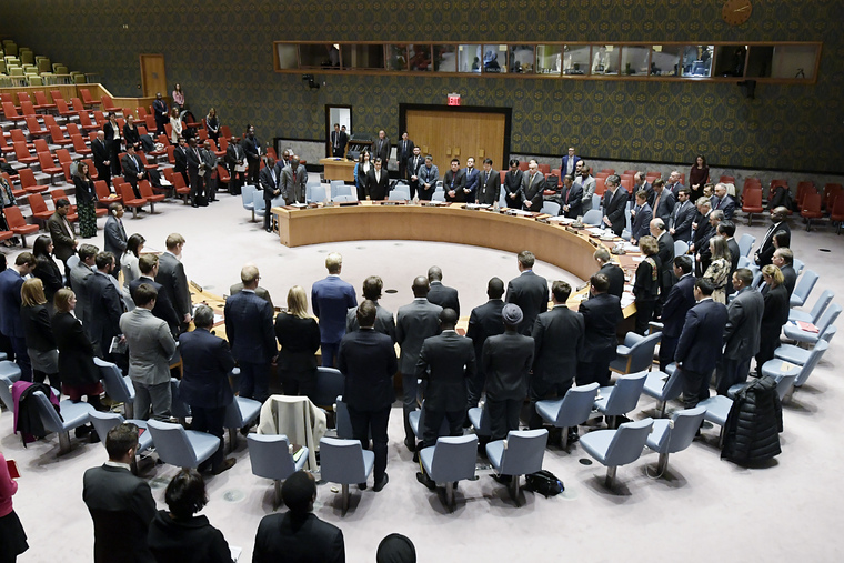 Security Council Observes Moment of Silence for DRC Attack