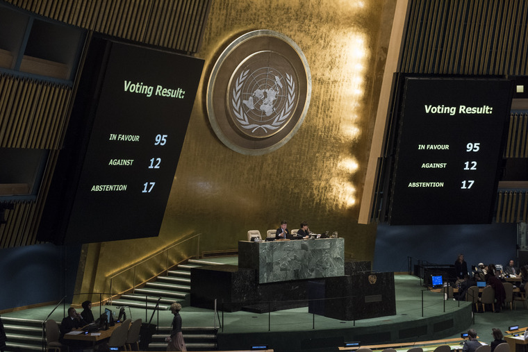 General Assembly Adopts Resolution on Protection, Safety and Security of Humanitarian and United Nations Personnel