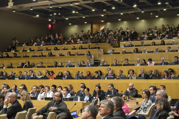 Secretary-General António Guterres Holds Global Town Hall