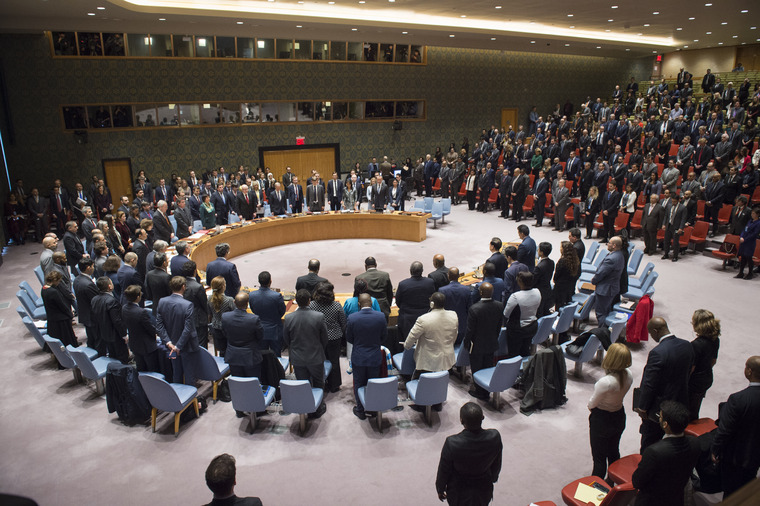 Security Council Observes Minute of Silence Before Meeting on Situation in Middle East