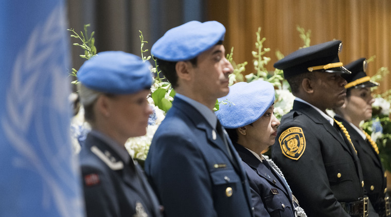 Annual Memorial Service Honours Staff Who Died Serving the United Nations