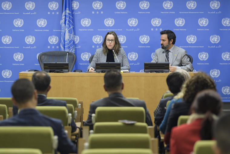 Press Briefing on High-Level Meeting on Peacebuilding and Sustaining Peace