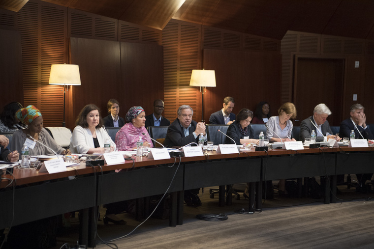 Secretary-General Holds High-level Interactive Dialogue with Heads of Regional and Other Organizations