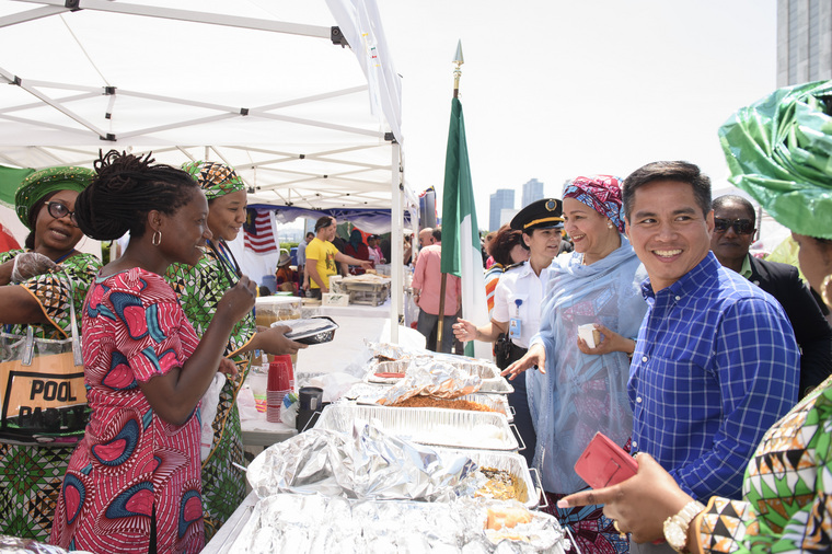 Deputy Secretary-General Attends UN International Bazaar Outside UNHQ
