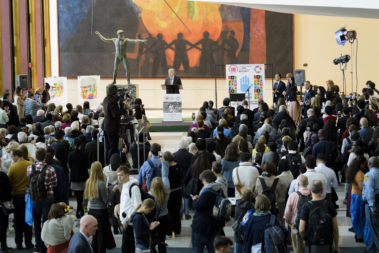 Secretary-General Speaks on International Day for Eradication of Poverty