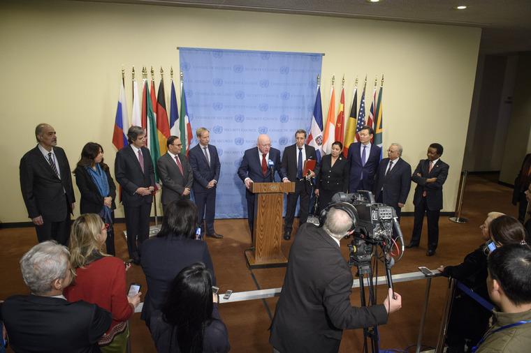 Press Encounter by Permanent Representative of Russia