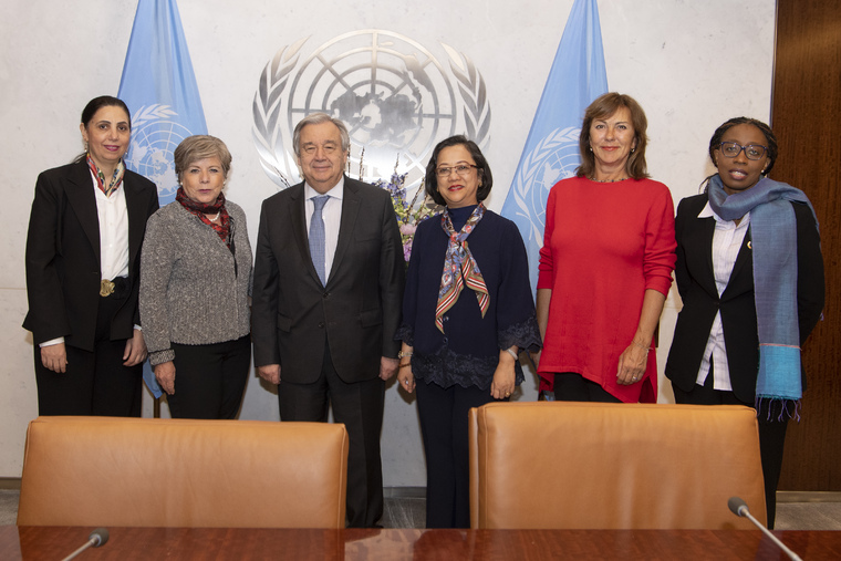 Secretary-General Meets Heads of UN Regional Commissions