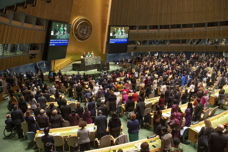 Opening of 63rd Session of Commission on Status of Women