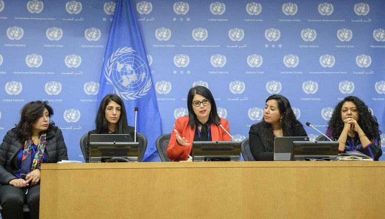 Press Briefing on Women, Peace and Security Agenda in Arab Region
