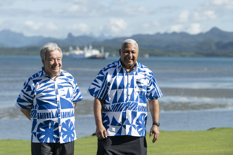 Secretary-General Visits Fiji