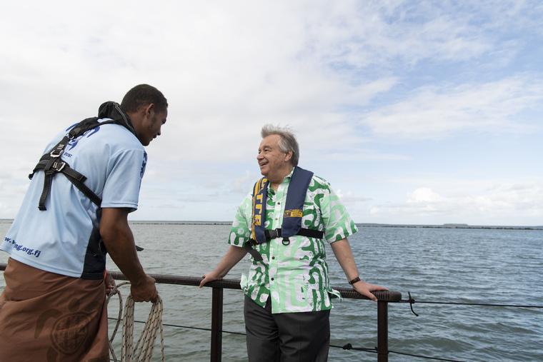 Secretary-General Visits Fiji