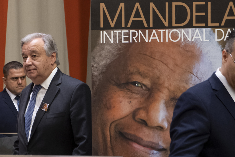 General Assembly Observes Nelson Mandela International Day