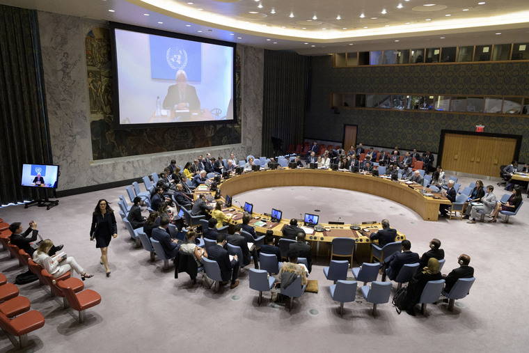 Security Council Considers Situation in Middle East (Yemen)