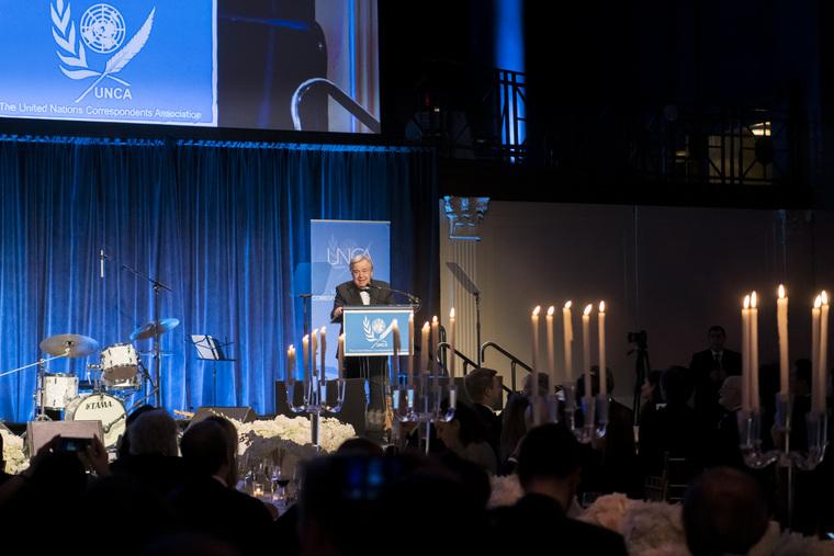 UN Correspondents Association Annual Awards Dinner