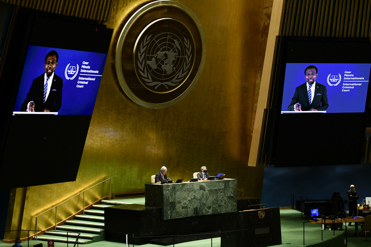 General Assembly Hears Report of International Criminal Court and International Court of Justice