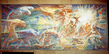 "Mural Painting ""Titans"" by Lumen Martin Winter at UNHQ 13.145605"