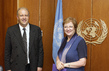 Deputy Secretary-General Meets with British Under-Secretary-of-State 7.245013