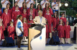 Secretary-General Addresses Gathering at Olympic Torch Relay Event 4.4558635