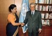 Secretary-General Greets President of Sri Lanka 2.8618362