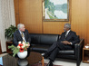 Executive Director of Security Council Report Meets With Secretary-General 2.864213