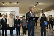 Secretary-General Opens Spirit of the East Exhibition 4.342927