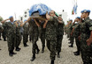 United Nations Stabilization Mission in Haiti Force Commander's Body Sent Home 4.064645