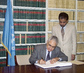 LIBYA SIGNS WORLD HEALTH ORGANIZATION FRAMEWORK CONVENTION 4.4584055