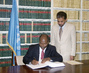 SAO TOME AND PRINCIPE SIGNS WORLD HEALTH ORGANIZATION FRAMEWORK CONVENTION 4.4558635