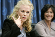 Press Conference by Nicole Kidman and Executive Director of UNIFEM 9.4627905