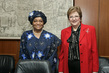 President of Liberia Calls on Deputy Secretary-General 7.226034