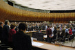 Human Rights Meeting Observes Minute of Silence at Start of Session 7.0311427