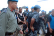 United Nations Peacekeepers Arrest Former Liberian President 4.6286573