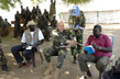United Nations Military Observers Confer With Local Leaders in Sudan 4.287446