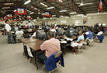 Haitian Voting Tabulation Centre is Hive of Activity as Election Papers Pour in 4.037343