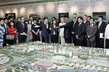 Secretary-General Visits Olympic National Stadium in China 12.201163