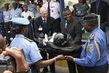 Congolese Police Force Receives Gift at Formation Ceremony 4.345872