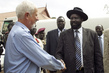 Head of UNMIS Office in Malakal Meets President of Government of Southern Sudan 4.4254756