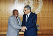 Secretary-General Meets with Foreign Minister of South Africa 1.0