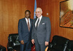 President of General Assembly Meets with Secretary-General of League of Arab States 0.1166108