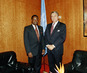 President of General Assembly Meets with President of Uruguay 0.9649915