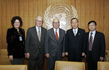 Secretary-General Meets World Federation of UN Association Delegation 1.9569703